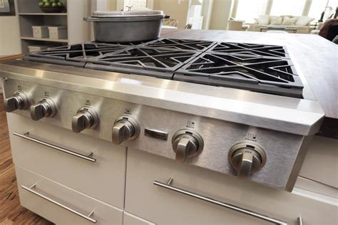 gas range tops simple cleaning diy 6 burner gas stove home ideas collection