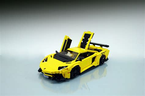 lamborghini lego lego lamborghini aventador superveloce functional