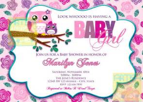 Winnie The Pooh Theme For Baby Shower - baby shower invitations owl theme gangcraft net