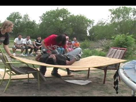 extreme backyard wrestling esw backyard wrestling extreme rumble i match part 1