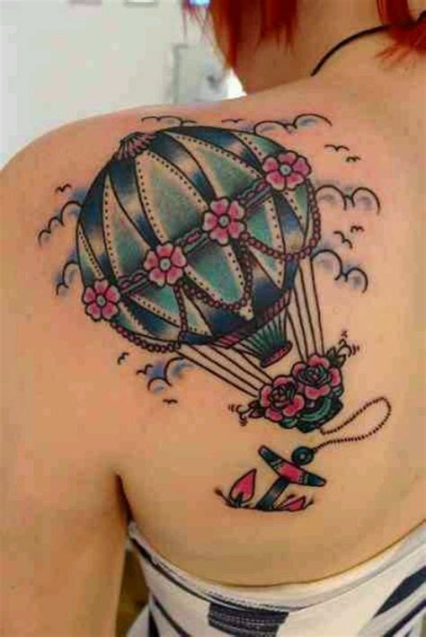 Are Anchors Back by Blue Air Balloon And Anchor Back Shoulder