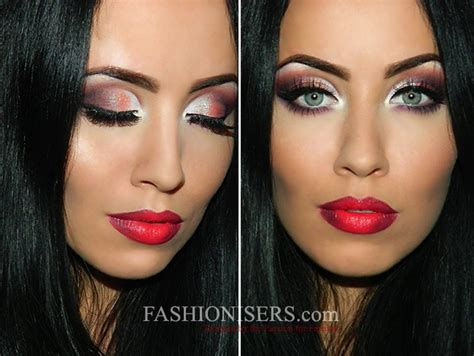 party makeup tutorial classic christmas party makeup tutorial with a twist
