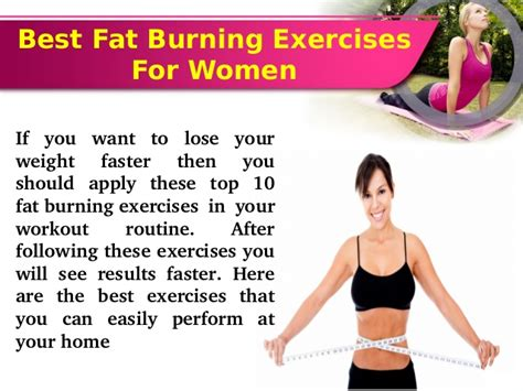 The Best Routine For Burning by Follow These Top 10 Burning Exercises For