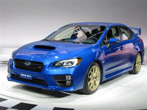Subaru 2015 Wrx Image 2015 Subaru Wrx Sti Launch Edition Introduced At