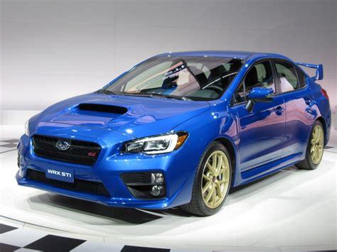 Subaru Detroit 2015 Subaru Wrx Sti Look 2014 Detroit Auto Show