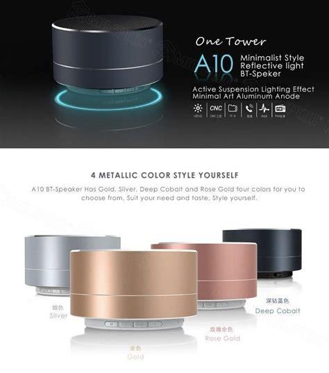 a10 minimalist style reflective light bt speaker free 174 a10 minimalist style high fidelity bluetooth
