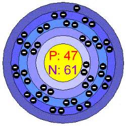 Number Of Protons Neutrons And Electrons In Silver Chemical Elements Silver Ag