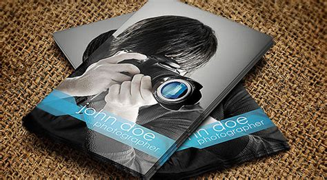 photographer templates cards 52 photography business cards free free