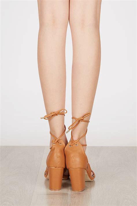 Sendal High Heels T53 Brown sell maryse block heels brown heels berrybenka