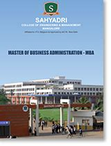 Sahyadri College Mba Fees by Sahyadri College Of Engineering Management