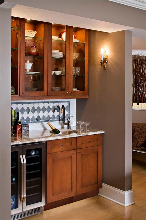wet bar cabinets with useful and cool mini bar ideas for your kicthen