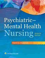 psychiatric mental health nursing books psychiatric mental health nursing book by l