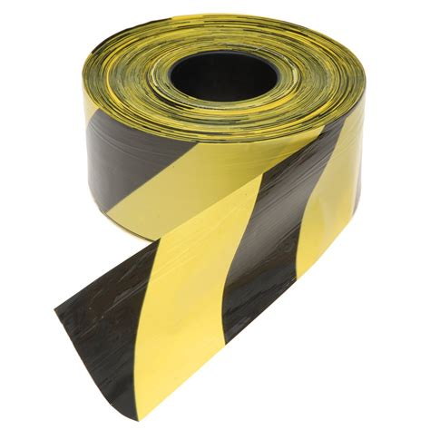 Barrier Tape Red And White Black Yellow