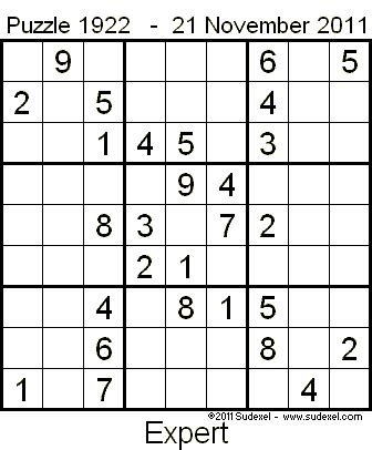 printable sudoku expert weekly sudoku puzzles from