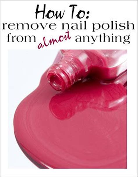 how to get nail polish out of comforter best 25 fingernail polish remover ideas on pinterest