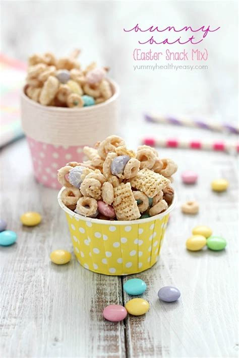 bunny bait easter snack mix yummy healthy easy