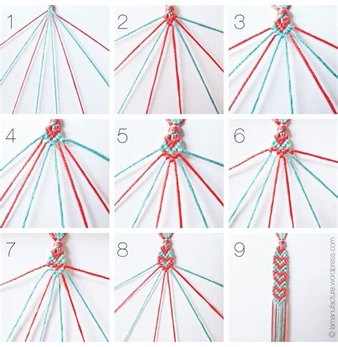 Pattern Heart Bracelet | heart pattern friendship bracelets c pinterest