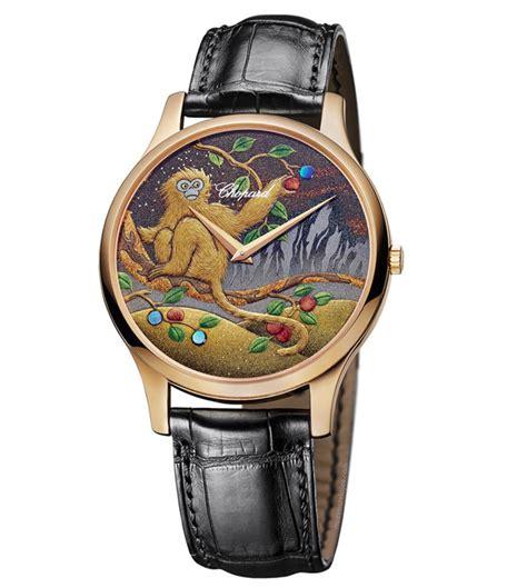 Chopard Jackpot 3 monkey watches to celebrate new year rich