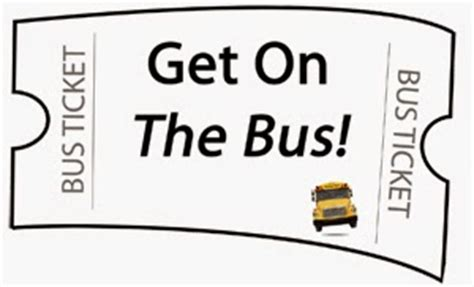 printable bus ticket template the tale of ticketogo or does my bus look big in this