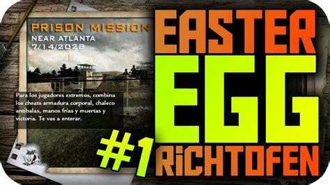 richtofen easter egg custom zombies prison mision easter egg richtofen 1