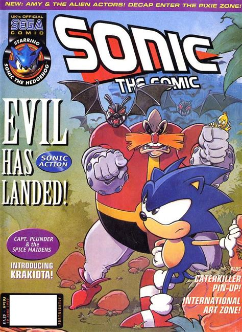 playground attack of the gurgle bots books sonic the comic issue 105 sonic news network fandom