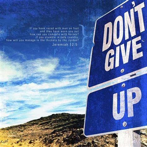 Never Give Up Bible Quotes. QuotesGram