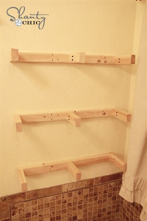 Easy Diy Floating Shelves Shanty 2 Chic How To Build Floating Shelves