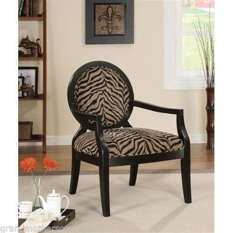 animal print chairs living room zebra print accent chair modern wood unique living room