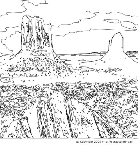 Free coloring pages of landscape