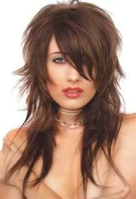 shag haircut rocker style 20 best funky haircuts for long hair hairstyles