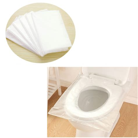 disposable toilet seat covers in store 6pcs portable waterproof maternity disposable paper toilet