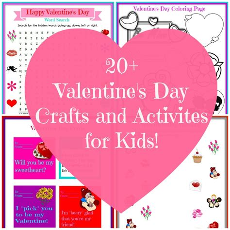 activities for valentines day s day craft ideas nepa
