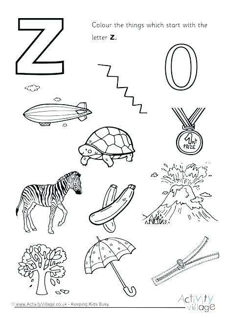 color that starts with z words with letter z small printable alphabet flash cards