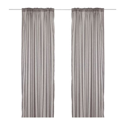 ikea curtains grey vivan curtains 1 pair ikea