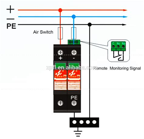 surge protective device wiring diagram wiring diagram