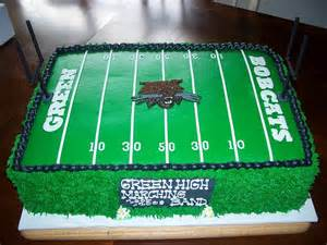 football field cake nolan party