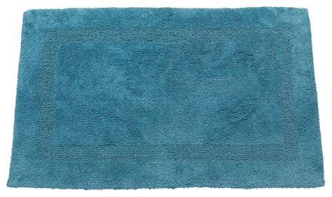 Blue Bath Mat by Large Sized Reversible Cotton Bath Mat In Royal Blue
