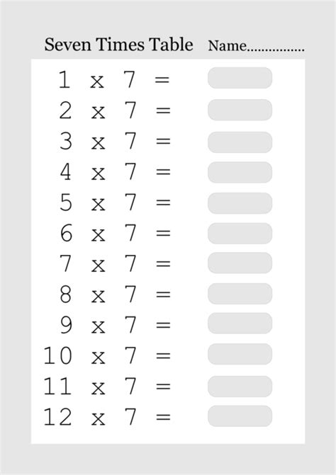 printable multiplication table of 3 printable times tables from 1 to 12 what answered