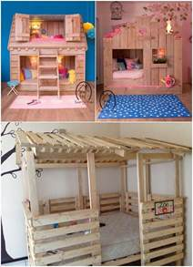 Pallet Kids Bedroom Furniture 15 Fabulous Pallet Projects For Your Kids Room
