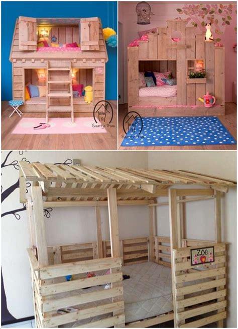 kids pallet bed 15 fabulous pallet projects for your kids room
