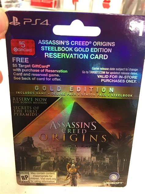 Origin Gift Card Target - further proof that assassin s creed origins exists