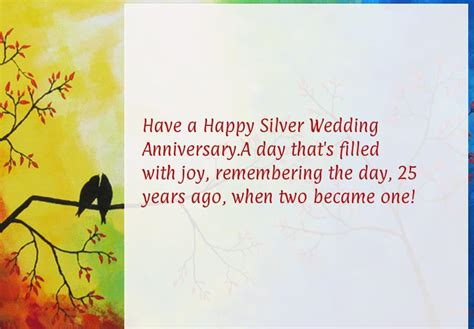 25th Wedding Anniversary Wishes Messages by Happy 25th Wedding Anniversary Wishes