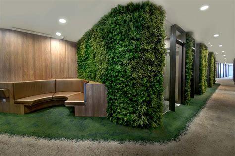 corridor feature wall  artificial green walls