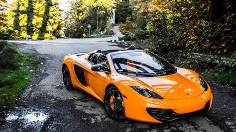 orange mclaren wallpaper mclaren mp4 12c spider 5k retina ultra hd wallpaper and