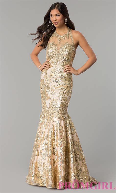 Dress Gold prom dresses evening gowns promgirl dj 3333