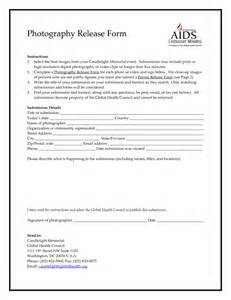 copyright release form for photographers template