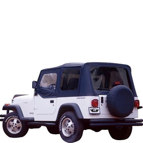 Jeep Soft Top Repair Jeep Soft Top Oem Replacement W Door Skins 1988 1995