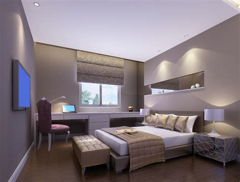 Bedroom With Desk | modern style bedroom desk and tv