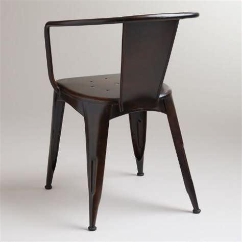 World Market Metal Chairs by Distressed Jackson Metal Tub Chair World Market