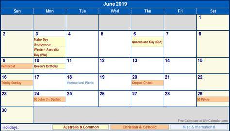 Calendar 2019 With Holidays Canada June 2019 Calendar With Holidays 2018 Calendar Printable